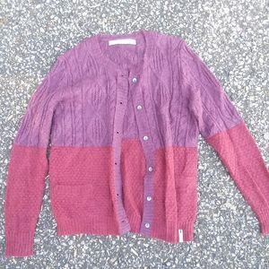 NWOT Woolrich Wool Blend Cardigan